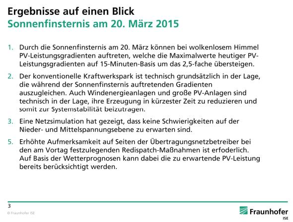Frauenhofer - Ergebnis auf einem Blick 20.03.15