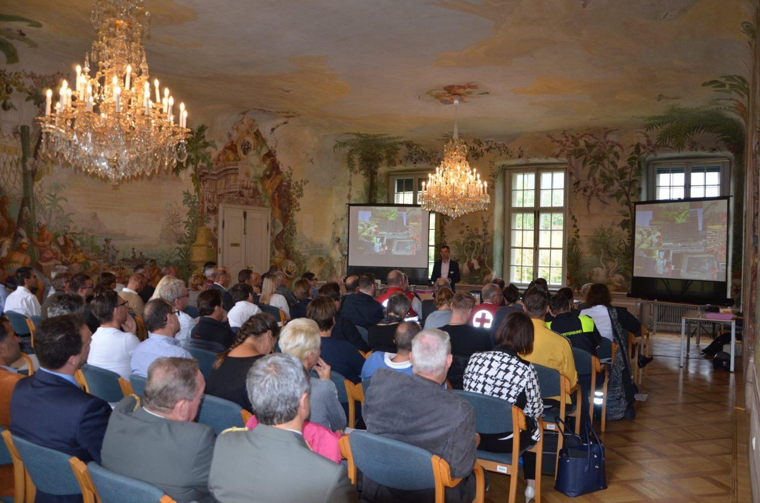 Festsaal Schloss Laudon, Foto: Andreas Platzer