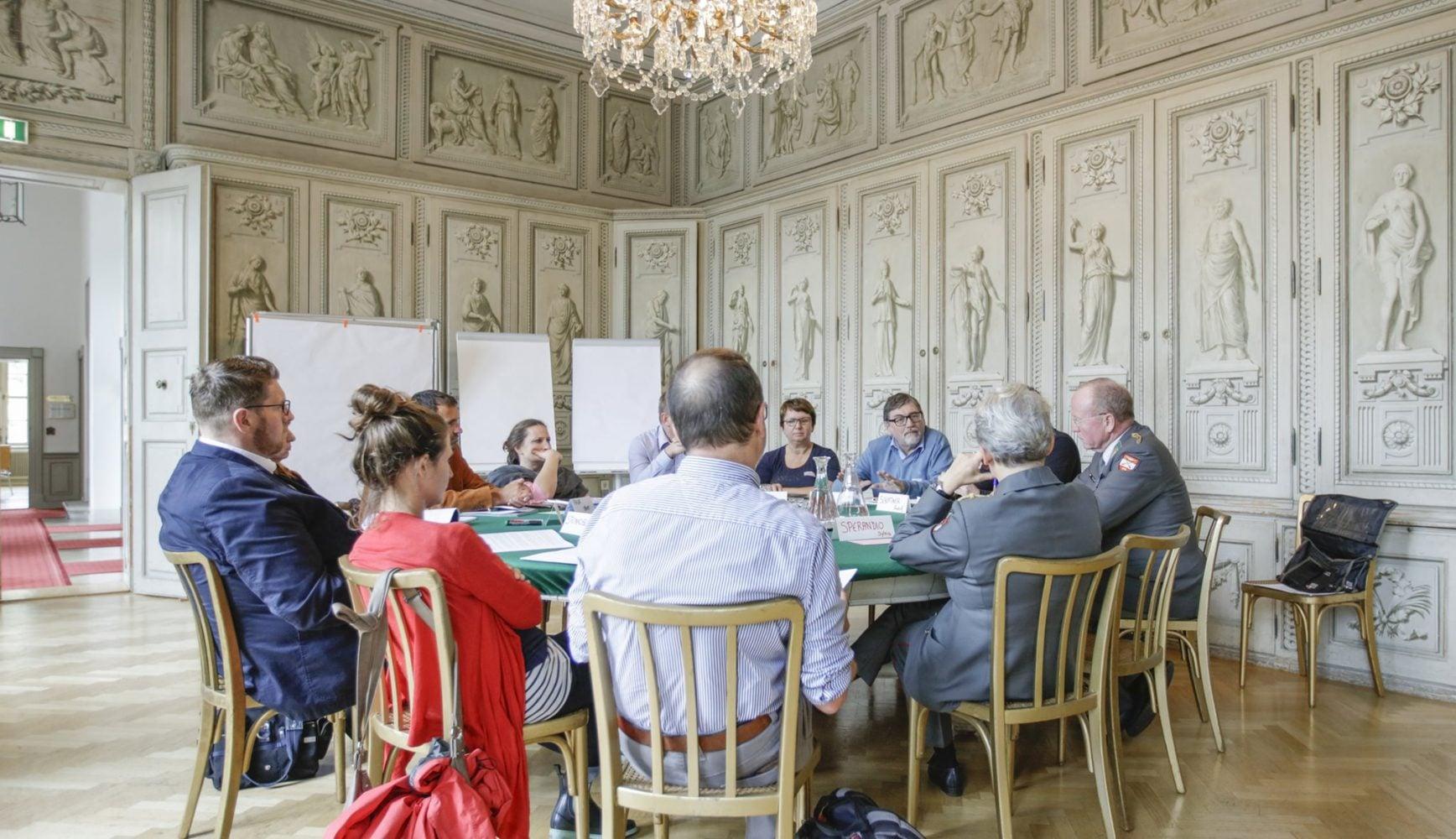 Kleingruppendiskussionen, Foto: BPD