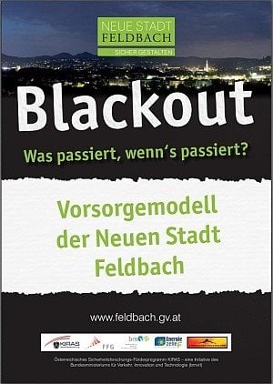 Blackout-Flyer Feldbach