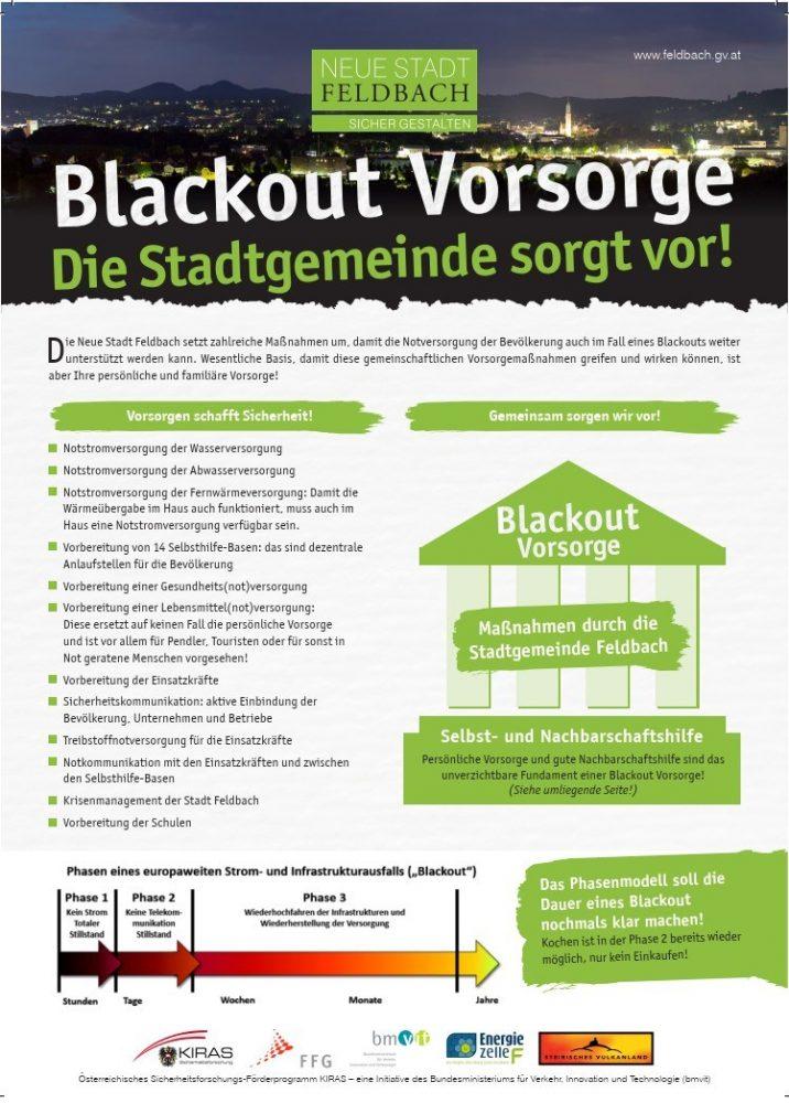 Blackout-Vorsorge geht uns alle an - Stadt