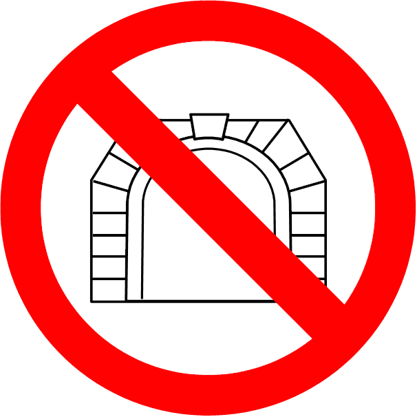 Kein Tunnel