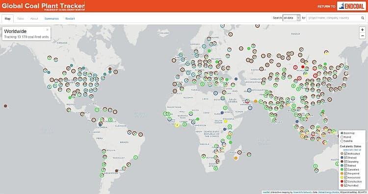 Global Coal Plant Tracker