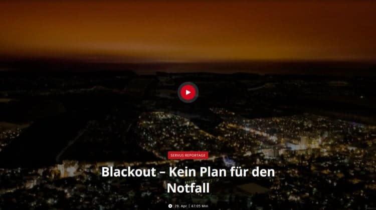 Blackout – Kein Plan für den Notfall