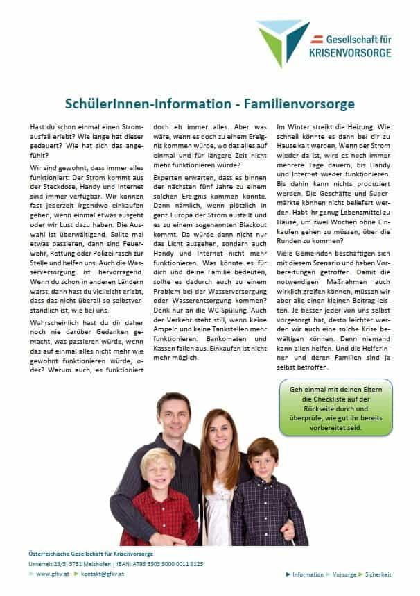 GfKV-Schülerinnen-Information